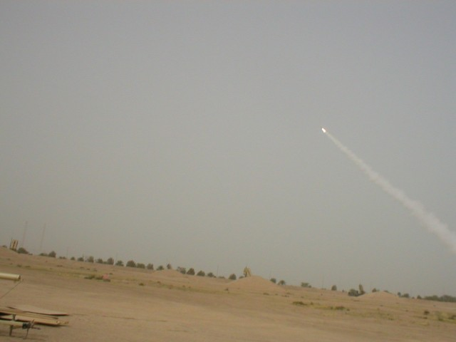 PATRIOT MISSILE FIRE!