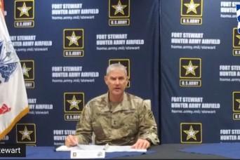 Fort Stewart-Hunter Army Airfield senior commander hosts town hall