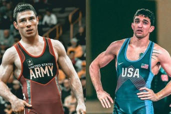 Army wrestlers have bigger goals after qualifying for Tokyo Olympics