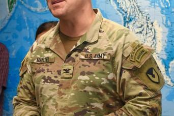 U.S. Army Garrison-Kwajalein Atoll Commander Col. Jeremy Bartel Fulfills Tour de Force