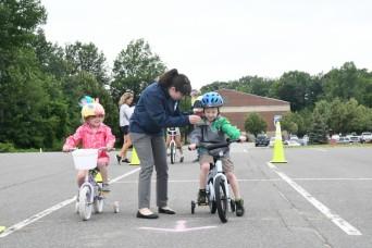 Fort Drum Bike Rodeo promotes safe riding for children