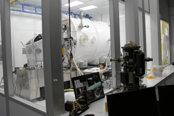Army test facility recreates space on earth