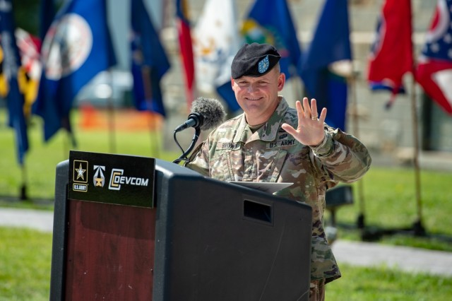 Brigadier General Brown takes command of DEVCOM
