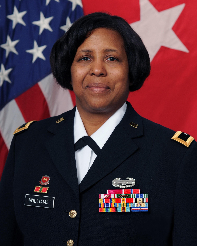 Brig. Gen. (Ret.) Donna Willaims