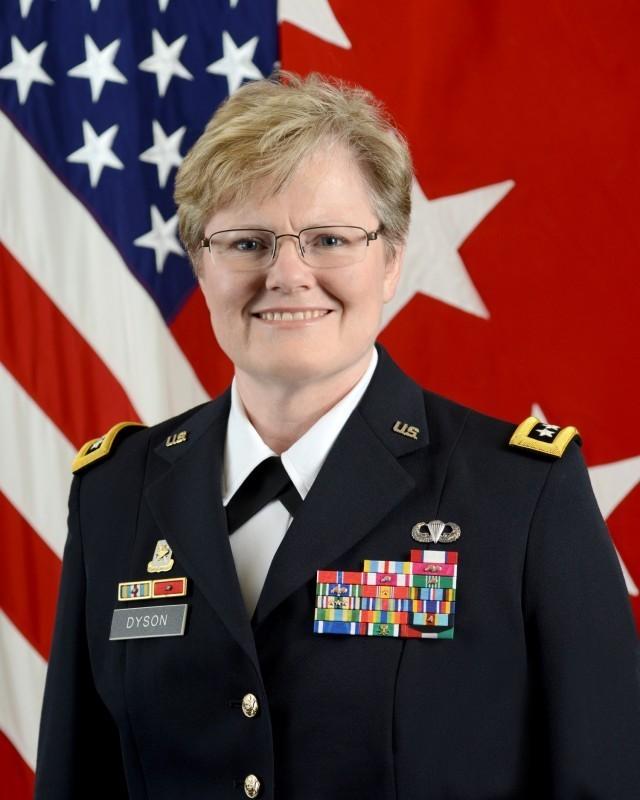 Lt. Gen. Karen Dyson