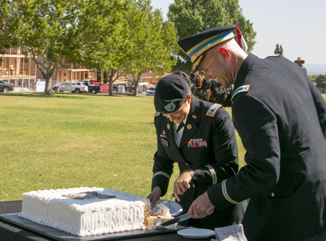 Warrant officers celebrate 103rd birthday