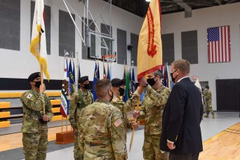 USAG Daegu Holds Change of Command Ceremony in South Korea