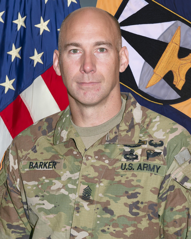 Command Sergeant Major Bryan Barker