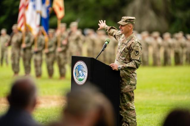 New commander speaks
