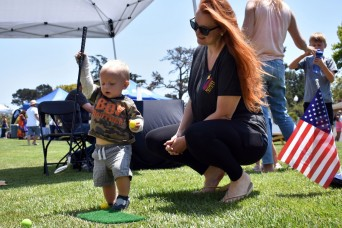 Presidio of Monterey housing community holds 'Party in the Park'