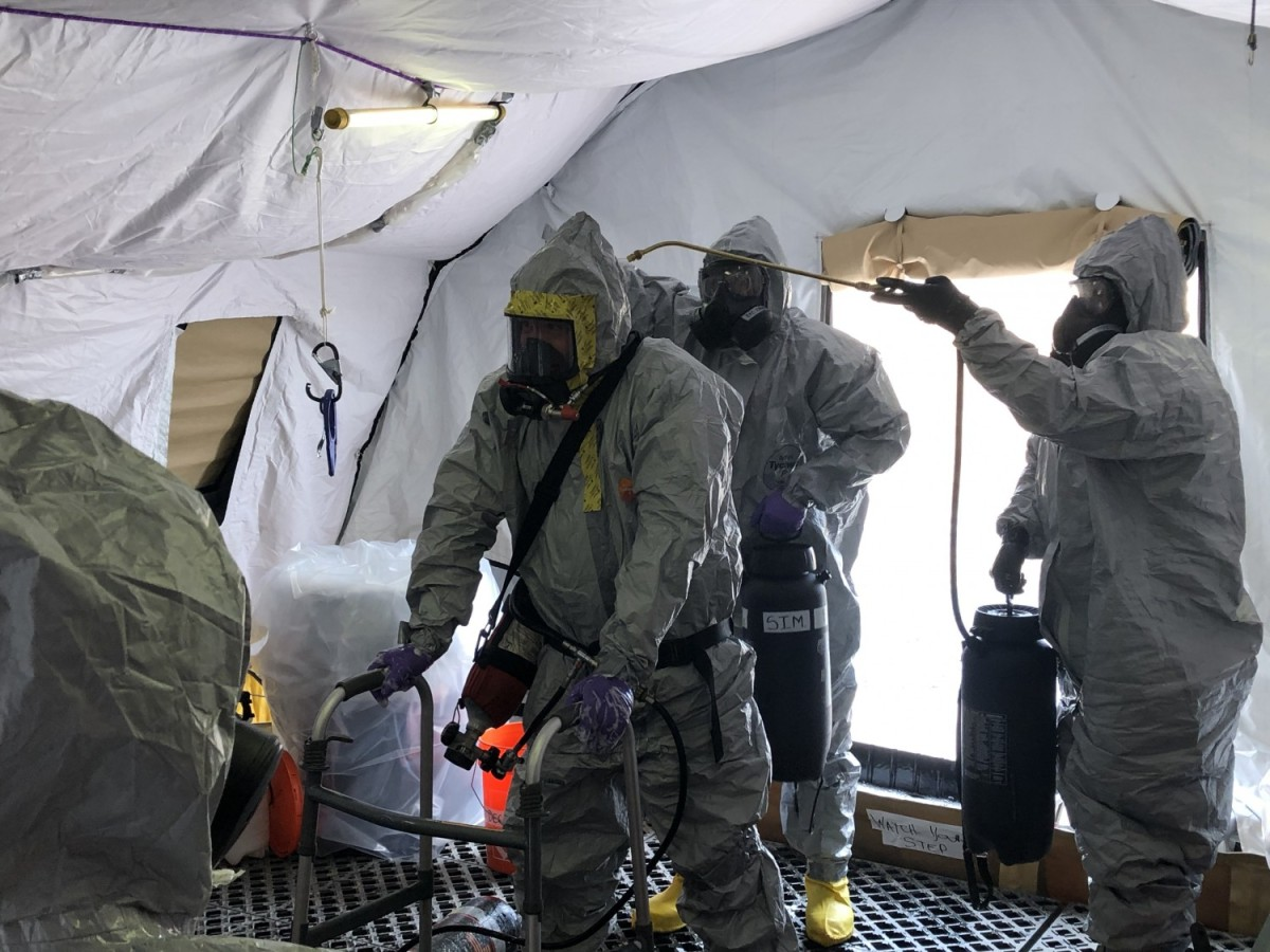 Soldiers help clear WWI-era chemical munitions from New Jersey base