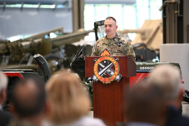New command team takes charge of Ordnance Corps