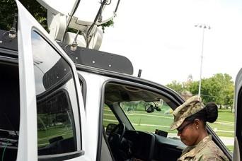 FEMAteam tests commo at Fort Leavenworth