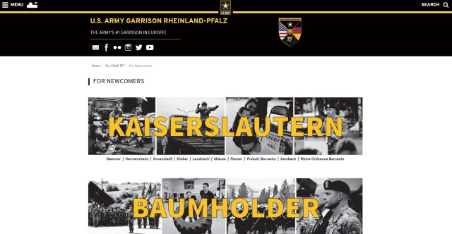 USAG Rheinland-Pfalz has many resources on their web site for those PCSing to, and out of, the garrison footprint.