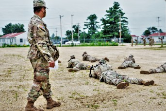 Photo Essay: 181st Multi-Functional Training Brigade Soldiers support Fort McCoy training