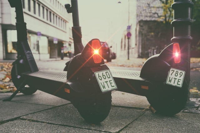 Germany requires insurance tags for e-scooters for travel on public roads. (photo, courtesy pixabay.com)