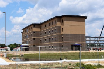 Photo Essay: Fiscal '19-funded barracks project closer to completion at Fort McCoy