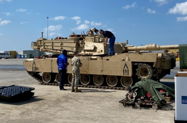 405th AFSB assists the 1st Cavalry Division with the divestiture mission following DEFENDER-Europe 21