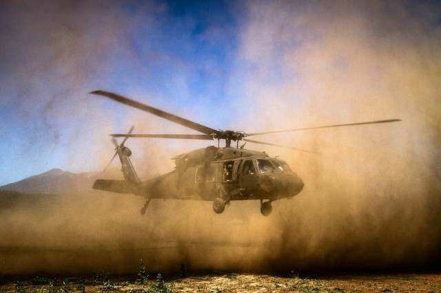 Army helicopters operate in degraded visual environments that can take a toll on gas turbine engines.