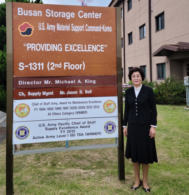 Kim In Suk is a supply system analyst who has worked at Busan Storage Center since 1970.  Courtesy photo