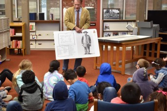 Presidio of Monterey children learn about history at military archive