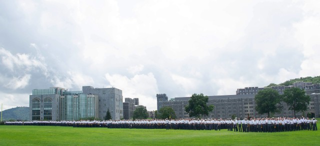 Approximately 1,225 new cadets enjoyed a day of rest and relaxation as staff, faculty, coaches and West Point community members gathered on The Plain to participate in the time-honored event, the New Cadet Visitation Day (Ice Cream Social), on Sunday at the U.S. Military Academy.