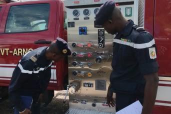 Vermont hosts SPP partner Senegal's national fire brigade