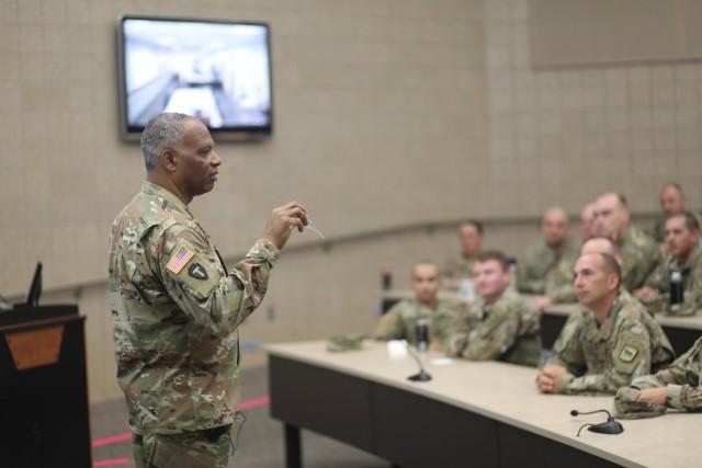 Army National Guard CSM visits South Dakota Soldiers