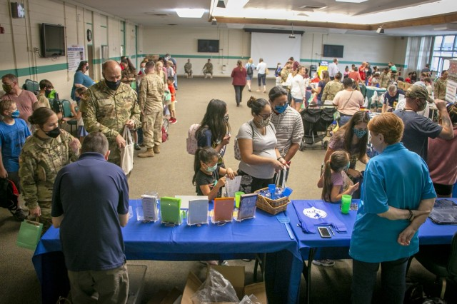 Back-to-School Fair informs military families
