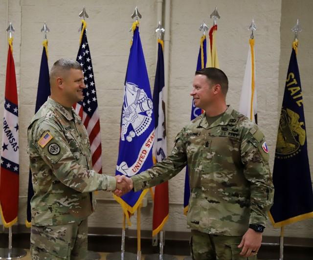 Assumption of Responsibility Ceremony welcomes USAG RIA senior enlisted leader
