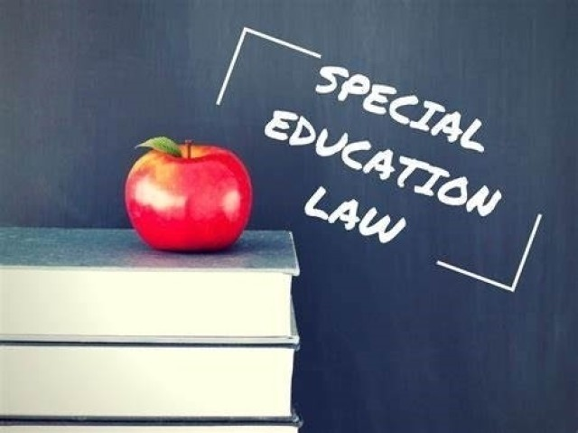 Legal counseling is available to ensure your child receives the education required for their special needs.
