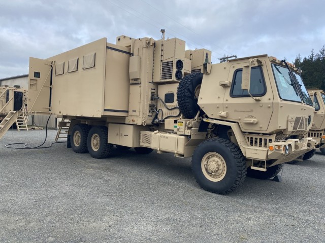 Potential Army command post prototypes tested by 2ID Soldiers at JBLM