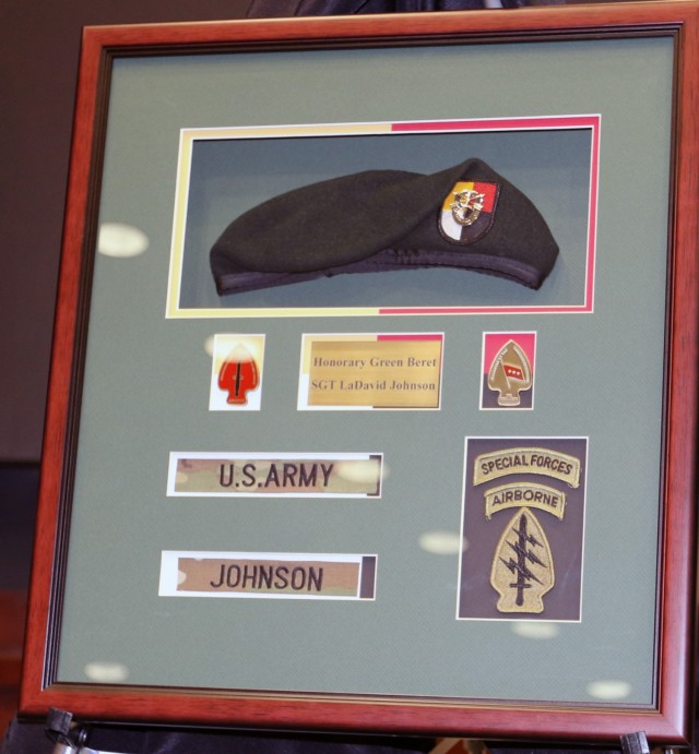 Soldiers awarded Honorary Green Beret