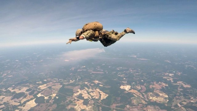 The US military took these incredible photos this week