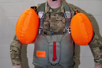 82nd Airborne, 3rd SF troops test new parachutist life preserver at Ft. Bragg
