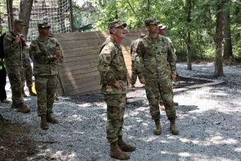 Army Materiel Command deputy commander visits Fort Knox, observes Cadet Summer Training
