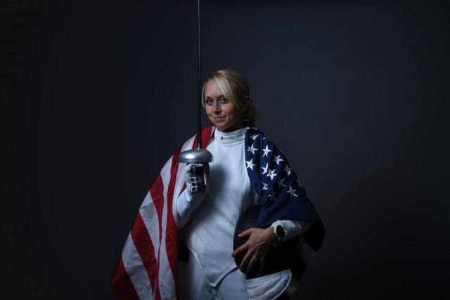 Sgt. Samantha Schultz will also be competing in modern pentathlon. The six-time national champion earned her spot for Tokyo at the 2019 Pan American Games where she took home a silver medal.