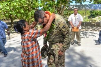 U.S. Army Garrison-Kwajalein Atoll Commander Visits Ebeye, Furthering U.S.-RMI Relations