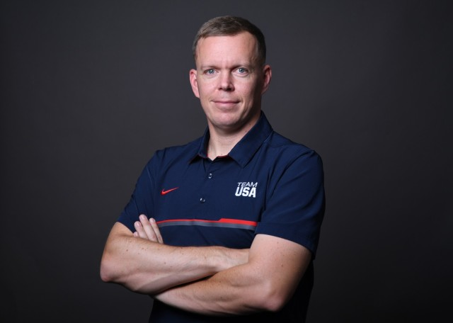 Twelve Soldier-athletes of the World Class Athlete Program are representing Team USA and the Army at the 2020 Summer Olympic Games that kicked off July 23. Sgt. 1st Class Dennis Bowsher was selected to coach for Modern Pentathlon. He is a six time national champion and coached at the 2016 games.
