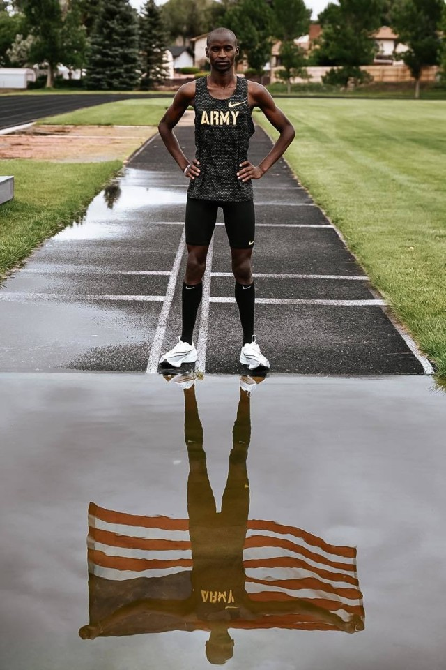 Twelve Soldier-athletes of the World Class Athlete Program are representing Team USA and the Army at the 2020 Summer Olympic Games that kicked off July 23. Spc. Benard Keter is making his Olympic debut in the 3,000 meter steeple chase. The NCAA champion grabbed his ticket to Tokyo after placing second at the Olympic Trials, and during a record heat wave for the area.