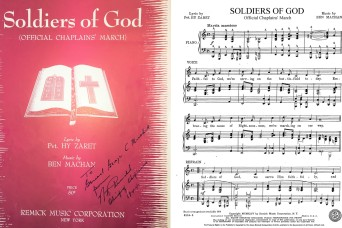 'Soldiers of God' – The U.S. Army Chaplain Corps March
