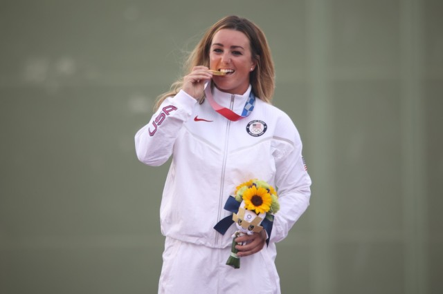 Army marksman brings home Olympic Gold, first medal for U.S. Armed Forces