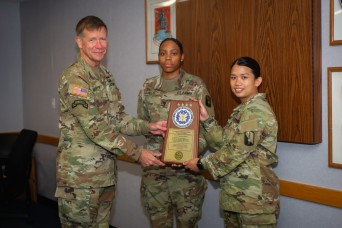 55th Combat Camera Supply Room Wins Army-wide Annual Supply Excellence Award.