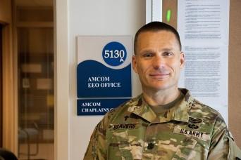 AMCOM welcomes Lt. Col. David Beavers as its new command chaplain