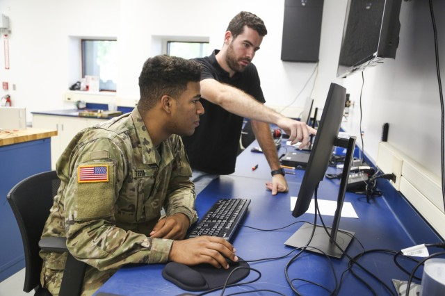 Through the Advanced Individual Academic Development program and their internship with the C5ISR Center, West Point cadets build strong personal relationships and an understanding of how the Army takes technology from concept to final product.
