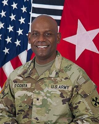 Brigadier General Joseph D'costa