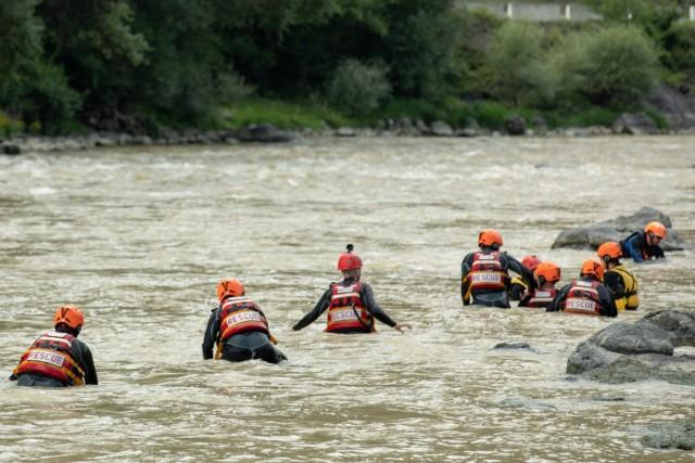 Georgia Guard partnership brings swift-water rescue to country of Georgia