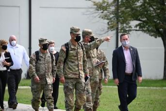 Congressional delegation tours Operation Allies Refuge