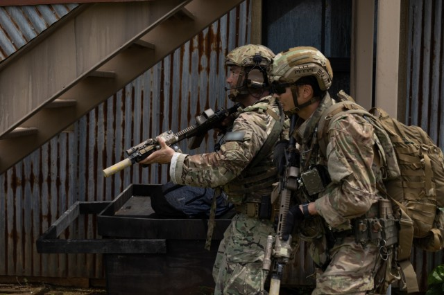 Defender Pacific 21: Special Forces Soldiers, JGSDF conduct bilateral operations in Guam