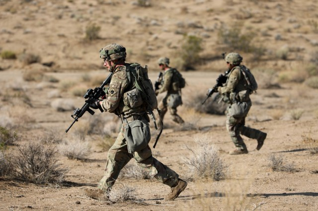 Oklahoma Army Guard Soldiers test their resiliency at NTC